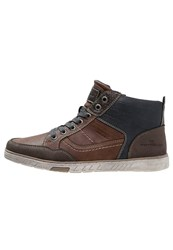 Tom Tailor Hightop Trainers Nuts Brown