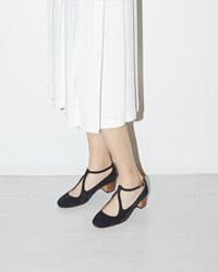 A.P.C. Solange Pump Dark Navy