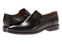 Ecco Cairo Perforation Slip On Black Oxford Leather Men's Slip On Dress Shoes