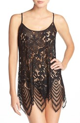 Women's In Bloom By Jonquil Racerback Lace Chemise And Thong