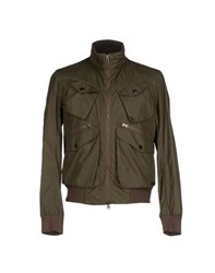 313 Tre Uno Tre Coats And Jackets Jackets Men Military Green