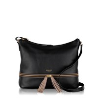 Radley Pickering Black Large Cross Body Bag Black