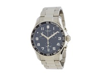 Victorinox Chrono Classics Swiss Blue Stainless Steel Watches Silver