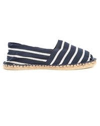 Armor Lux Blue And White Striped Espadrilles