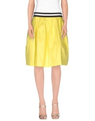 P.A.R.O.S.H. Skirts Knee Length Skirts Women Yellow