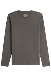 Majestic Long Sleeved Cotton Cashmere Top Gr. M
