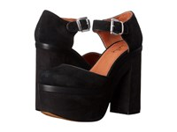 Shellys Fulham Black High Heels
