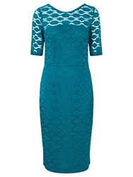 Sugarhill Boutique Grace Lace Dress Teal