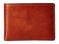 Bosca Dolce Collection Credit Card Wallet W Id Passcase Amber Bi Fold Wallet Bronze