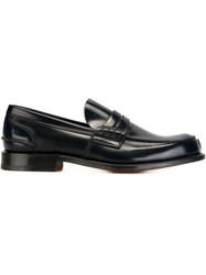 Church's Tunbridge Loafers Blue