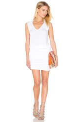 Velvet By Graham And Spencer Karris Modal Knit Dress White