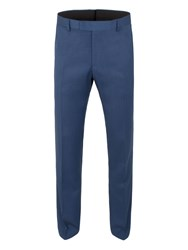 Limehaus Taylor Micro Slim Trouser Bright Blue