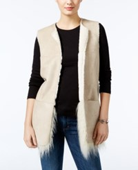 Guess Nicola Faux Fur Lined Vest Scuffy