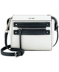 Nine West Get Poppin Crossbody Milk Black