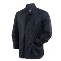 St James Navy Waterproof Coat