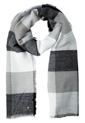 Esprit Scarf Black Grey