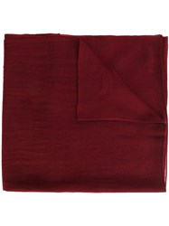Denis Colomb 'Cloud' Shawl Red