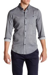 Ezekiel Canopy Regular Fit Woven Shirt Gray