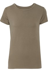 Majestic Stretch Jersey Top Nude