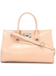 Jimmy Choo 'Riley' Tote Nude And Neutrals