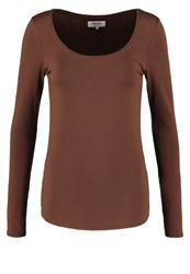 Zalando Essentials Long Sleeved Top Apple Butter Bordeaux