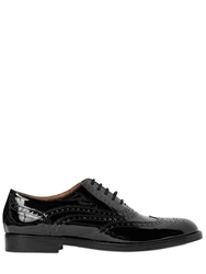 Fratelli Rossetti 20Mm Brogue Patent Leather Oxford Shoes Black