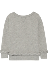 Band Of Outsiders Cotton Sweatshirt Gray