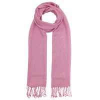John Lewis Wool Mix Occasion Scarf Mulberry