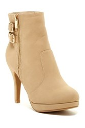 Top Guy Loma High Heel Bootie Beige