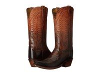 Lucchese Maxine Peanut Brittle Cowboy Boots Brown