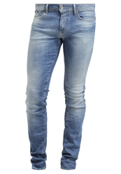Gas Jeans Gas Sax Zip Slim Fit Jeans Light Blue