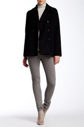 Vince Double Face Wool Blend Peacoat Black