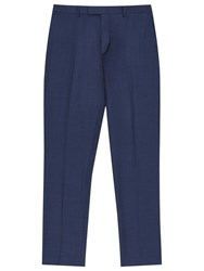 Reiss Harry Wool Modern Fit Suit Trousers Airforce Blue