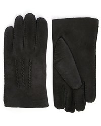 Agnelle Black Alexis Sheepskin Gloves