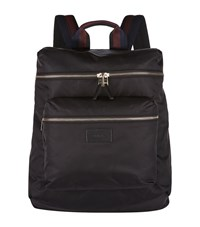 Paul Smith Stripe Strap Backpack Unisex Black