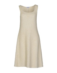 Base London Base Short Dresses Ivory