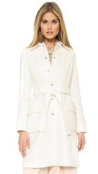 Club Monaco Parnell Coat White