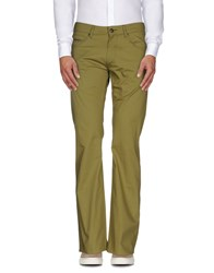Galliano Trousers Casual Trousers Men Military Green