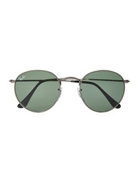 Ray Ban Sunglasses In Round Metal