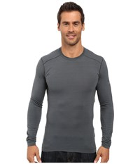 Arc'teryx Satoro Ar Crew Long Sleeve Nautic Grey Men's Clothing Gray
