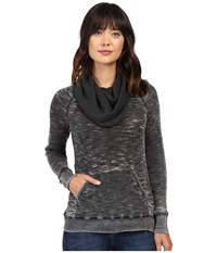 Allen Allen Elbow Patch Cowl Black Women's Clothing