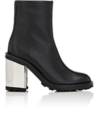Opening Ceremony Women's Isa Grained Leather Ankle Boots Black