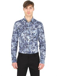Eton Slim Fit Button Down Printed Shirt