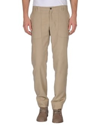 57 T Casual Pants Beige