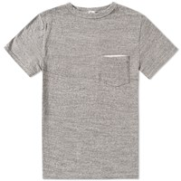 Kaptain Sunshine Loopwheel Pocket Tee Grey