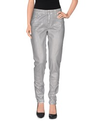 Department 5 Denim Denim Trousers Women Grey