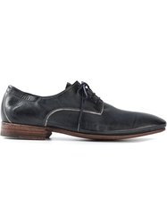 N.D.C. Made By Hand 'Scott' Lace Up Shoes Blue