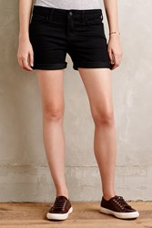 Pilcro Denim Roll Up Shorts Black