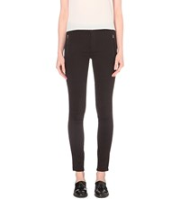 French Connection The Rebound Jodhpur Skinny Mid Rise Jeans Black