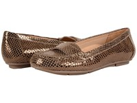 Vionic Chill Larrun Loafer Bronze Snake Women's Flat Shoes